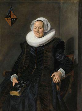 Portret van Maritge Claesdr Vooght, Frans Hals sur