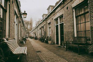 Altes Arbeitersviertel 7 Steegjes von Jan van der Knaap
