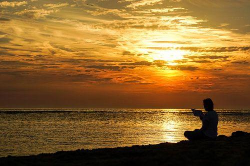 Zee, zon en strand von Dirk van Egmond