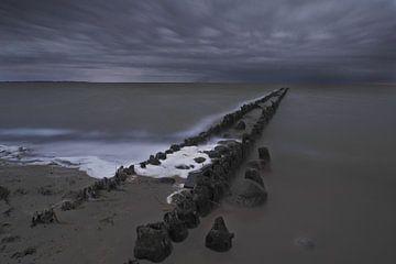 IJsselmeer von Patrick vdf. van der Heijden