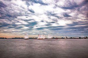 Segelwettbewerb auf den Loosdrechter Seen von 2BHAPPY4EVER.com photography & digital art