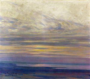 L'humeur du matin au lac de Constance, Charles Johann Palmie, 1907