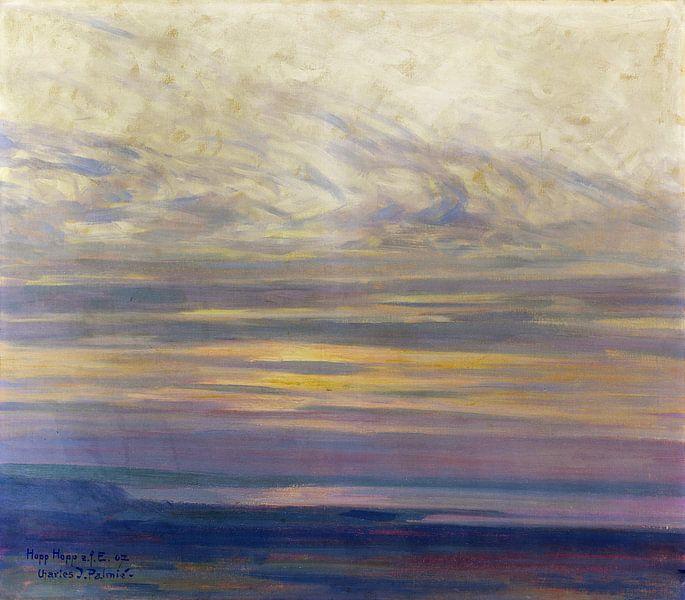 L'humeur du matin au lac de Constance, Charles Johann Palmie, 1907 sur Atelier Liesjes