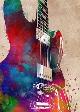 Gitarre 29 Musikkunst #Gitarre #Musik von JBJart Justyna Jaszke