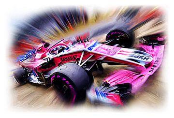 SERGIO PEREZ Austrian Grand Prix 2018 van Jean-Louis Glineur alias DeVerviers