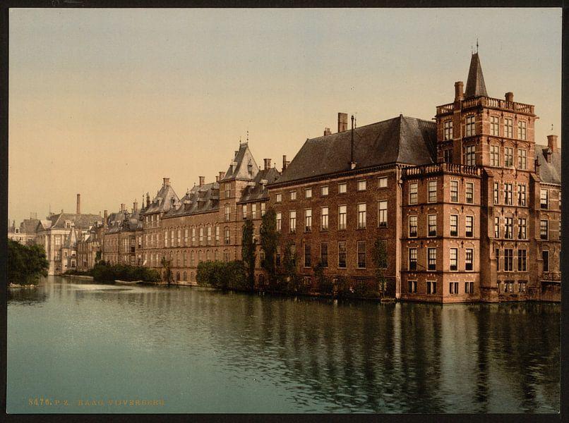 Hofvijver, Den Haag van Vintage Afbeeldingen