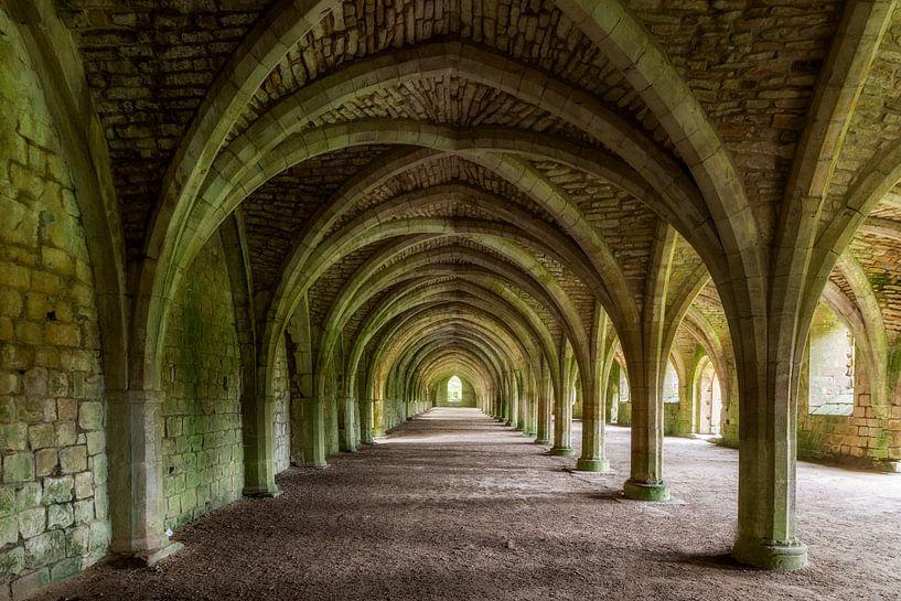 Fountains Abbey van Truus Nijland