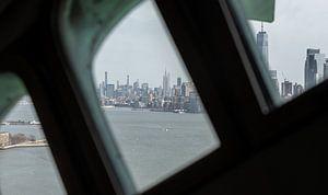 New York,  Statue of Liberty, Vrijheidsbeeld, Manhattan van Fikri calkin