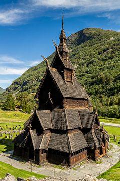 Borgund Staafkerk, Noorwegen van Adelheid Smitt