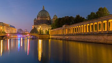 Sonnenaufgang in Berlin, Deutschland