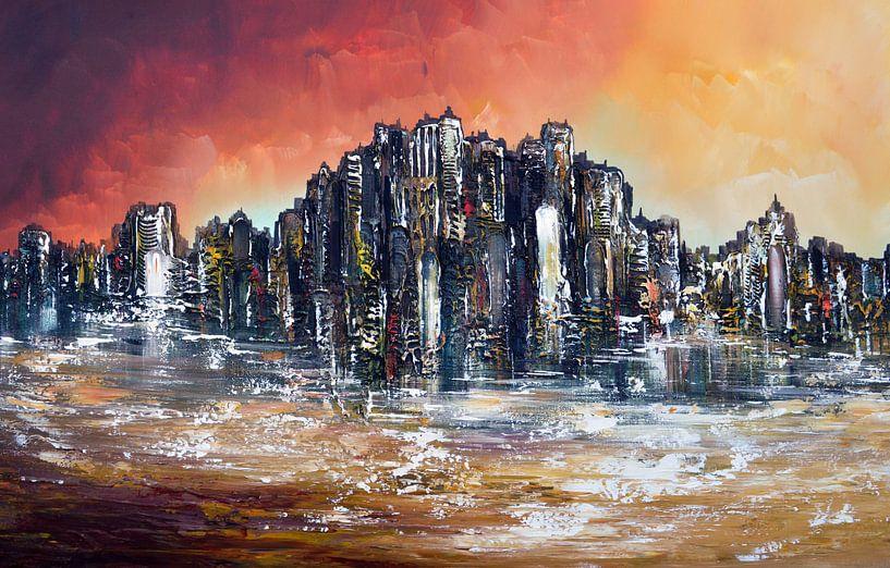 Fantasy skyline von Gena Theheartofart