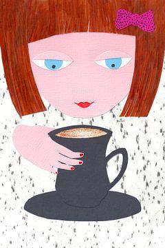 Schöne Tasse Kaffee von Karolina Grenczyk