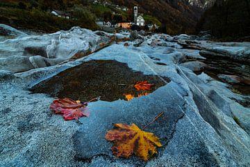 Herfst in Valle Verzasca - Ticino - Zwitserland van Felina Photography