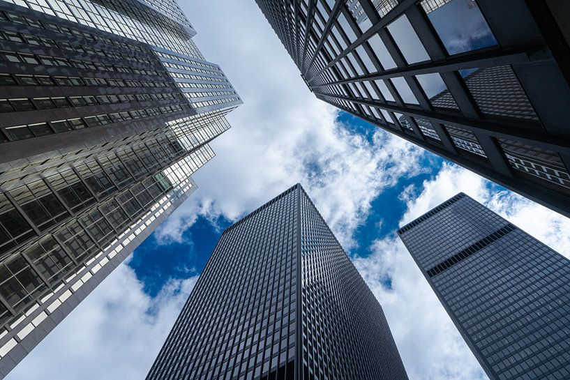 Toronto skyscrapers van Floris van Woudenberg