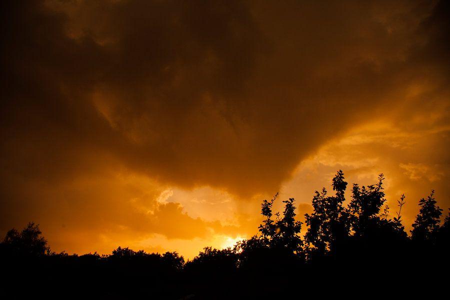 Zonsondergang van Robbie Veldwijk