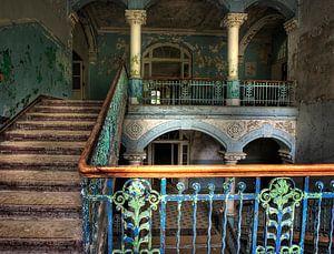 De trap naar boven