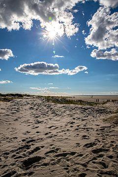 Gegenlicht am Strand von St. Peter Ording von Alexander Wolff