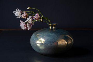 Kleine Kletterrose in Mobach-Keramik von Affect Fotografie