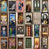 Collage deuren Funchal, Madeira old town van Carin du Burck thumbnail