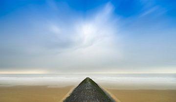 Onaards landschap. von Pieter van Roijen