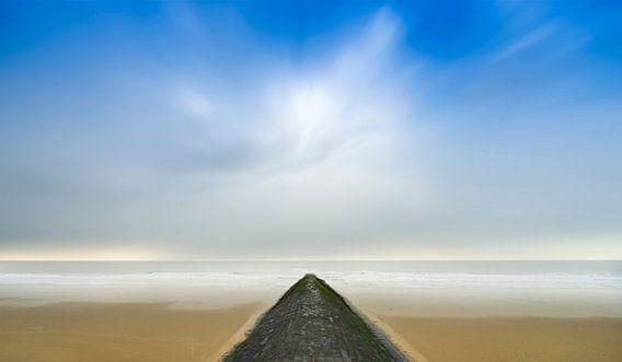 Onaards landschap. van Pieter van Roijen