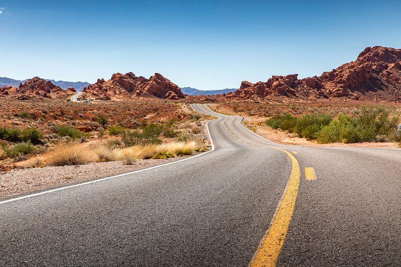 Valley of Fire state park - Nevada - Las Vegas von Martijn Bravenboer
