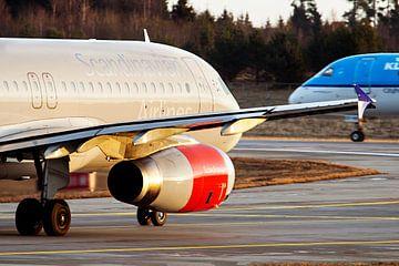 SAS vs. KLM van hugo veldmeijer