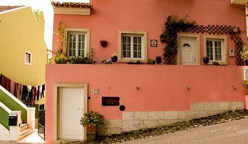 Oud huisje in Sintra, Portugal von