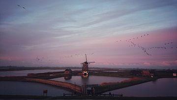 Molen Het Noorden von Marco Krebaum
