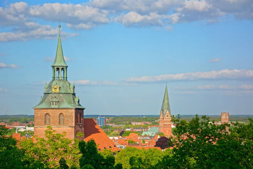 View of Lunenburg van Gisela Scheffbuch