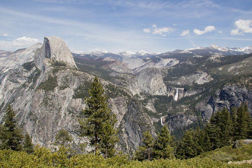 Yosemite National Park: El Capitan en watervallen van Henk Alblas