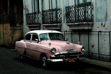 Oldtimer in Cuba #1 van Jurien Minke