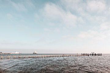 Meerlandschaft vor der Nordseeinsel Föhr
