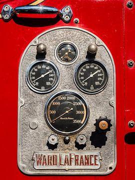 Brandweer drukmeters van
