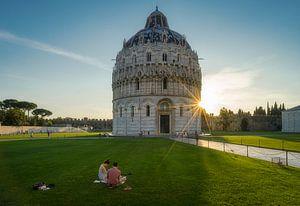 Het Baptisterium van Pisa