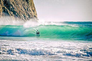 Bodyboarden en surfen...