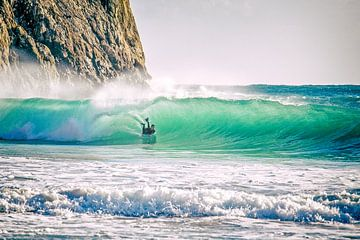 Bodyboarden en surfen... van Jacqueline Lemmens