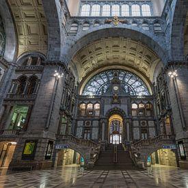 Het Centraal Station in Antwerpen van MS Fotografie