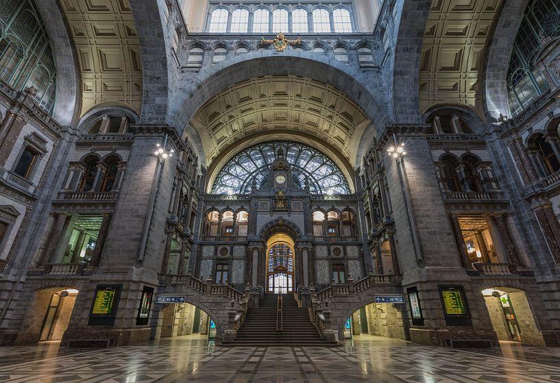 Het Centraal Station in Antwerpen van MS Fotografie | Marc van der Stelt