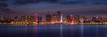 Rotterdam Skyline van Jeroen Lagerwerf