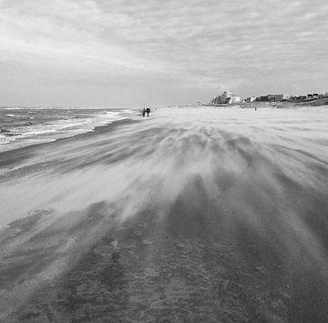storm aan de kust von Jeannette Kliebisch
