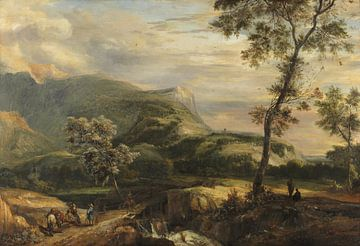 Berglandschaft, Roelant Roghman