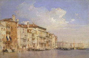 Großer Kanal, Venedig, Richard Parkes Bonington