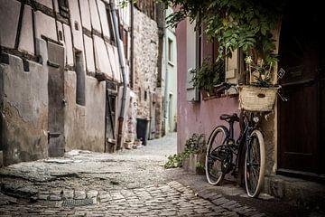 De fiets, Eguisheim van Michiel Mulder