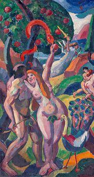 Adam und Eva, Carl Newman