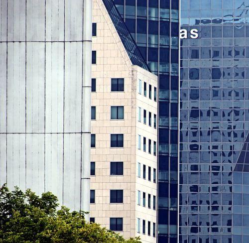 Architectuur aan Boompjes Rotterdam van