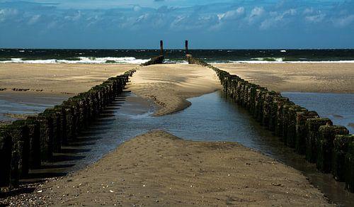 Strand bij Burgh-Haamstede van