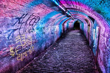 Tunneltje bij de Ganzenmarkt Utrecht van
