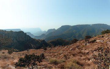 Die Berge in Graskop, Südafrika von Ian Schepers