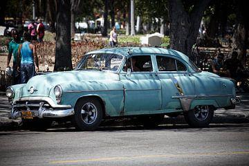 Cubaanse Oldtimer Taxi van Karel Ham